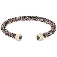 Ladies Swarovski Rose Gold Plated Crystaldust Bracelet 5348098