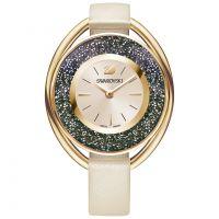 Damen Swarovski Crystalline Oval Watch 5296319