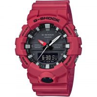 Herren Casio G-Shock Alarm Chronograph Watch GA-800-4AER