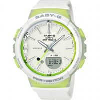 femme Casio Baby-G Step Counter Alarm Chronograph Watch BGS-100-7A2ER