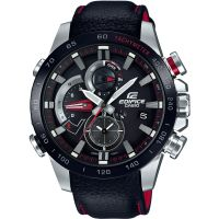 Herren Casio Edifice Bluetooth Dreifach Connect Wecker Chronograf Uhren