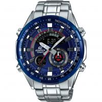 Herren Casio Edifice Racing Blue Series Alarm Chronograph Watch ERA-600RR-2AVUEF