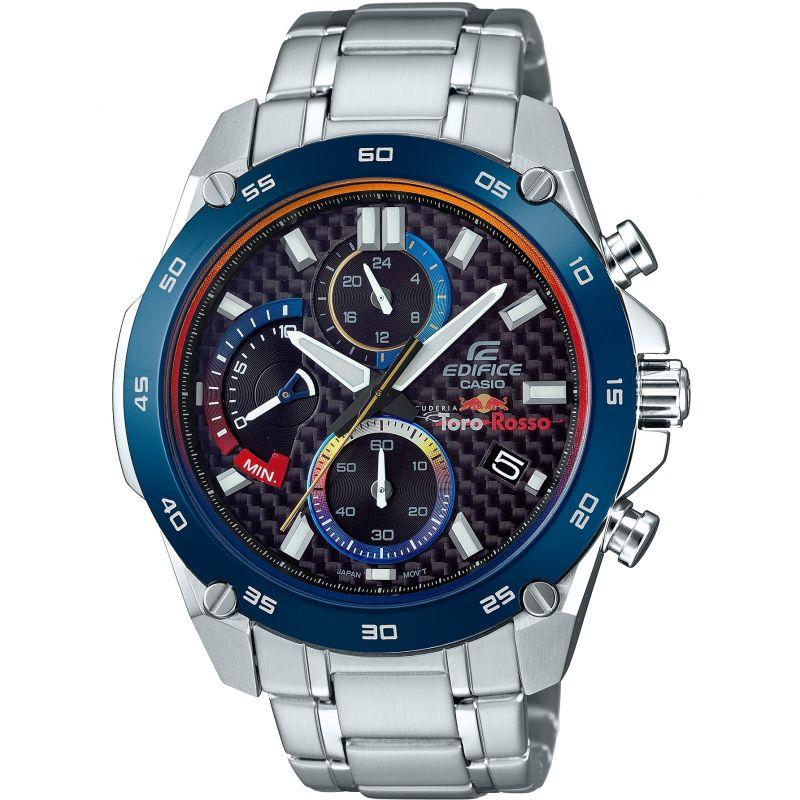 Mens Casio Edifice Toro Rosso Special Edition Chronograph Watch