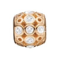 Ladies Christina Gold Plated Sterling Silver Magic Bead Charm 623-G19