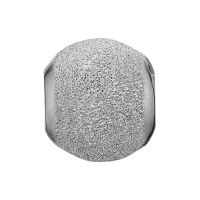 Ladies Christina Sterling Silver Stardust Bead Charm 623-S20