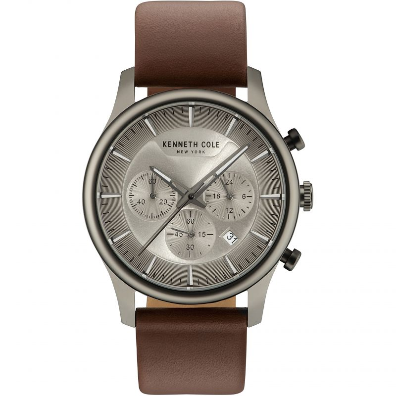 Mens Kenneth Cole Bleeker Chronograph Watch