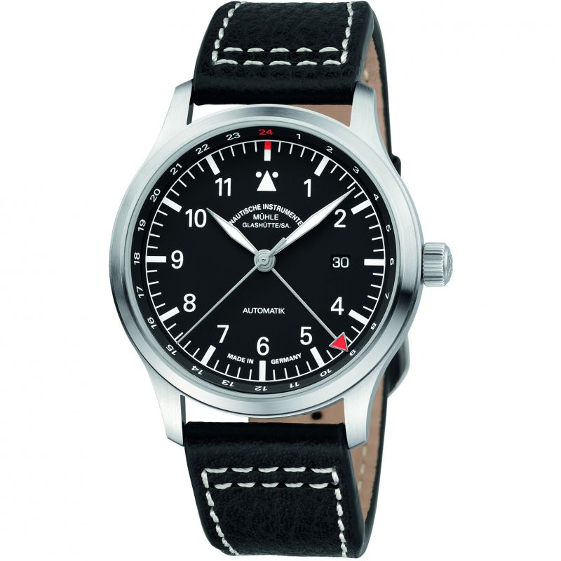 Mens Muhle Glashutte Terrasport IV GMT Automatic Watch