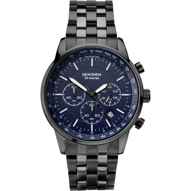 Herren Sekonda Chronograph Watch 1376