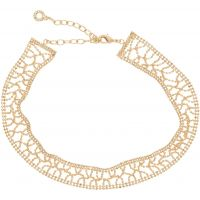 Damen Anne Klein vergoldet Just Shine Choker Halskette