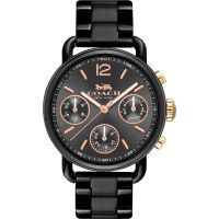 Coach Delancy Sport Dameshorloge Zwart 14502840