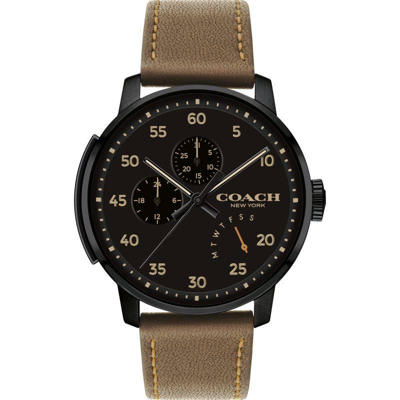 Mens Coach Bleecker Watch