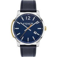 Coach Bleecker Slim Herenhorloge Blauw 14602343