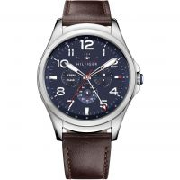 Tommy Hilfiger TH 24-7 Bluetooth Android Wear Herrklocka Brun 1791406