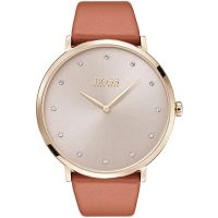 Hugo Boss Jillian Dameshorloge Bruin 1502411