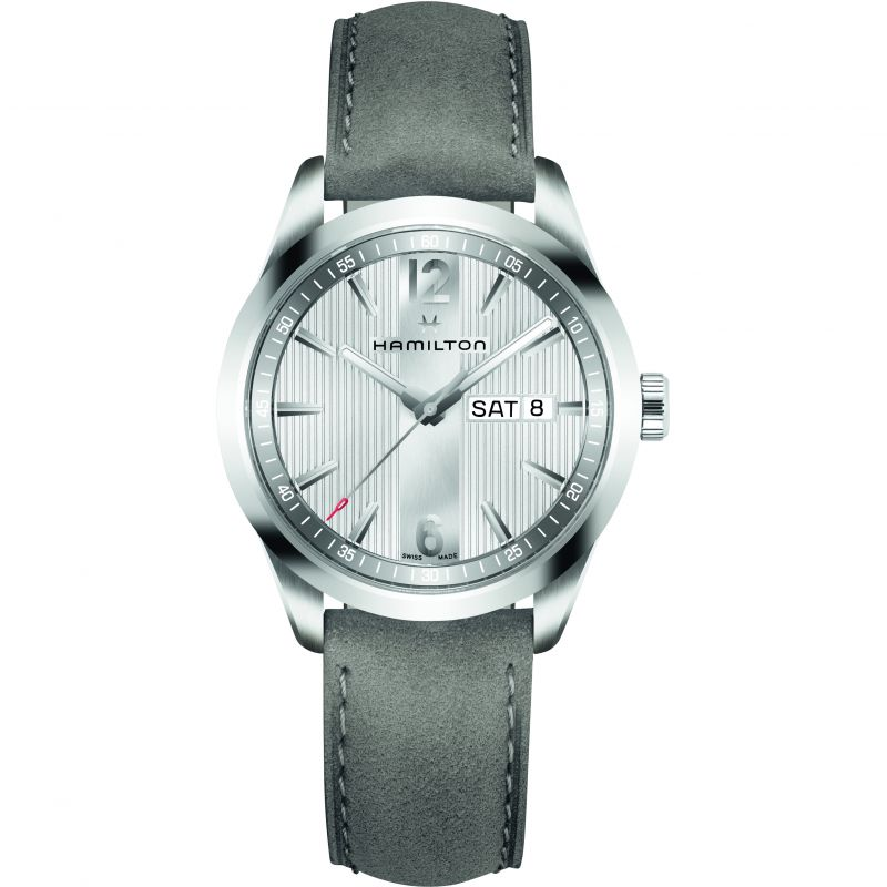 Mens Hamilton Broadway Day-Date 40mm Watch