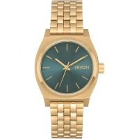 Nixon The Medium Time Teller Unisexklocka Guld A1130-2626