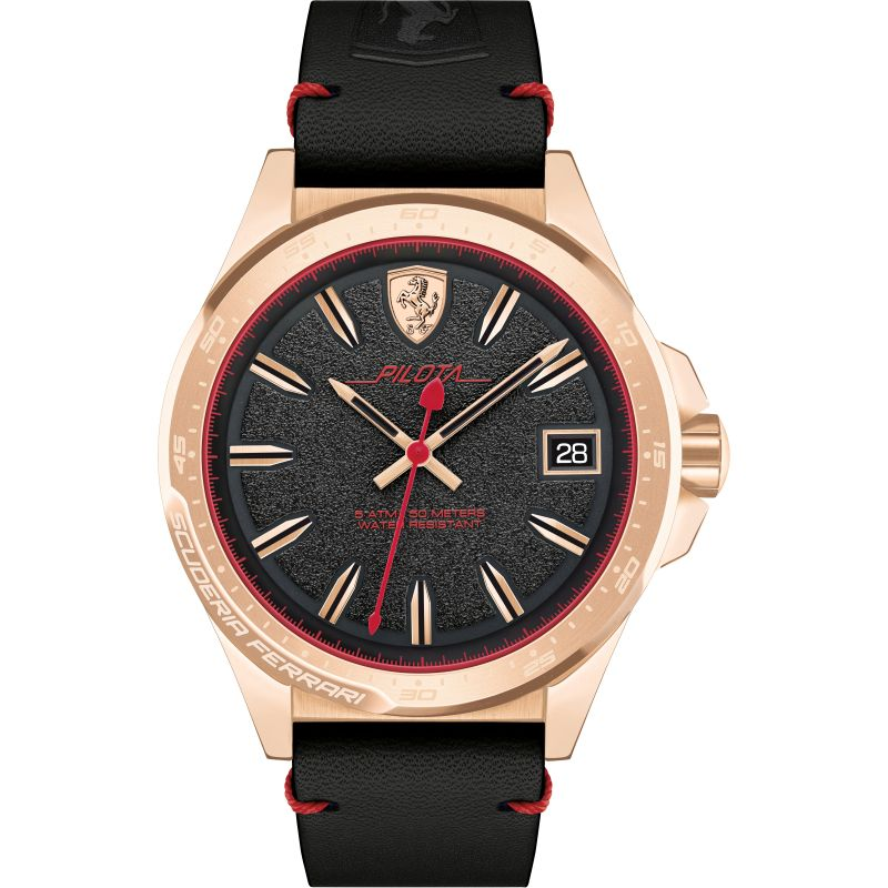 Mens Scuderia Ferrari PILOTA Watch