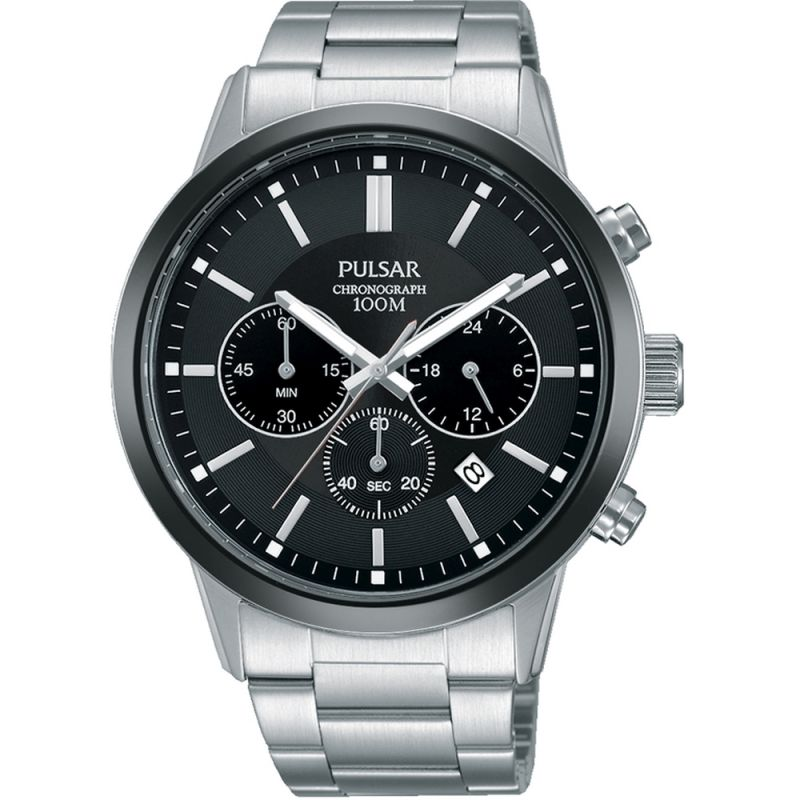 Mens Pulsar Dress Chronograph Watch