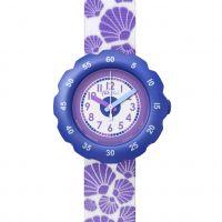 enfant Flik Flak Soft Purple Watch FPSP016