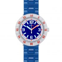 enfant Flik Flak Snorkeling Blue Watch FCSP058