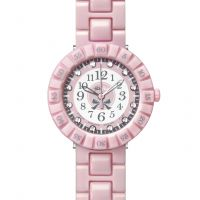 enfant Flik Flak Pretty Rose Watch FCSP047