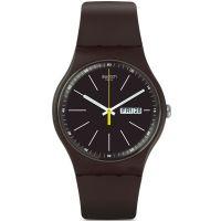 unisexe Swatch Blue Browny Watch SUOC704
