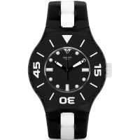 Orologio da Unisex Swatch B And W Deep SUUB102