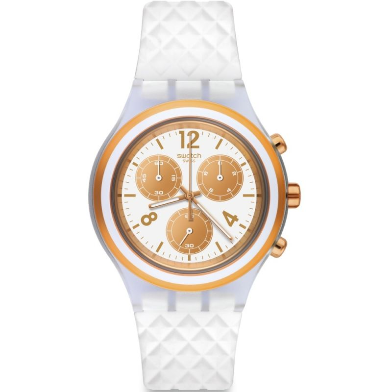 Unisex Swatch Elepink Chronograph Watch