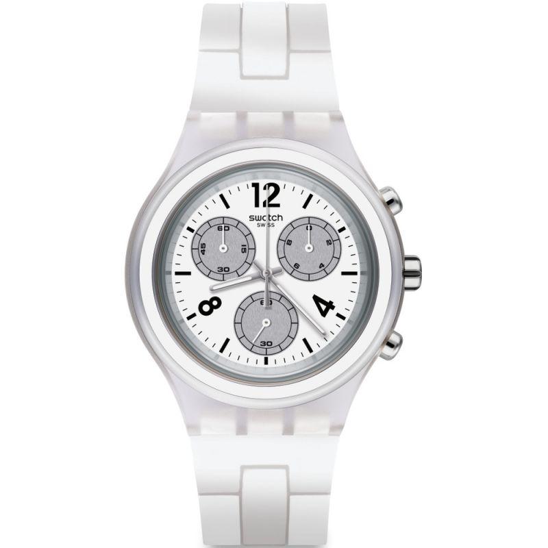 Unisex Swatch Elesilver Chronograph Watch