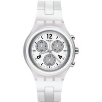 Unisex Swatch Elesilver Chronograph Watch SVCK1007