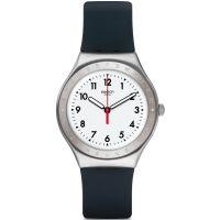 Unisex Swatch Schwarz Reflexion Uhren