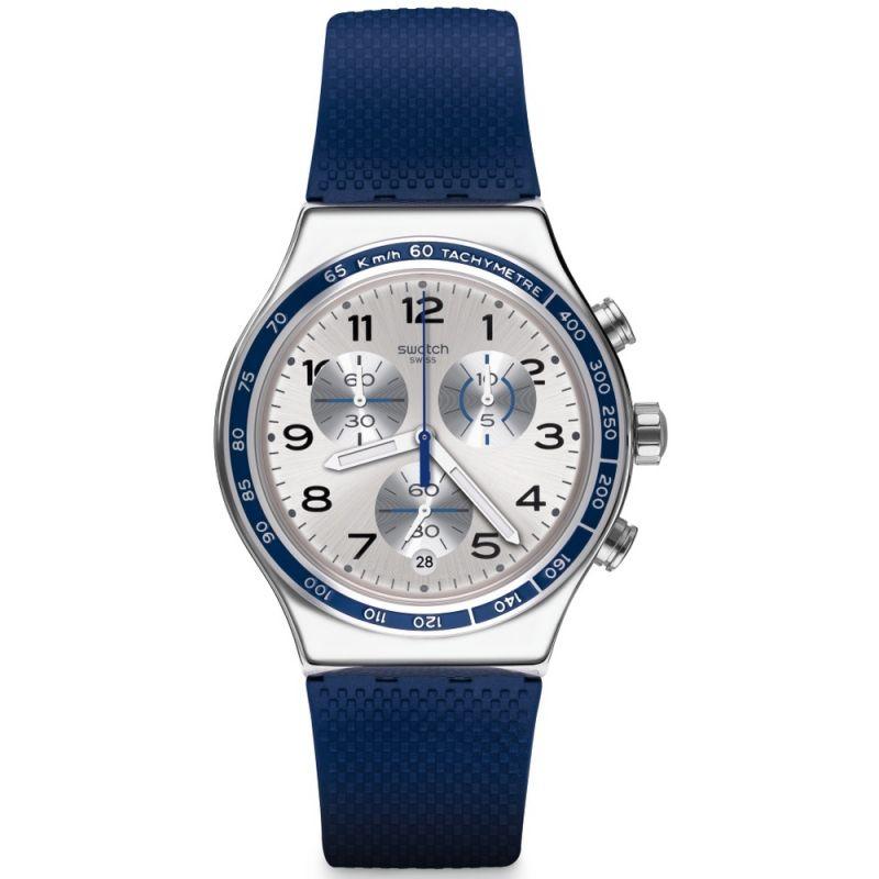 Mens Swatch Frescoazul Chronograph Watch