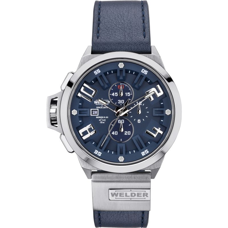 Mens Welder The Bold K53 Chronograph Watch