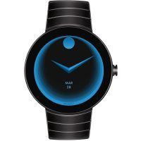 Mens Movado Connect Android Wear Bluetooth Alarm Chronograph Watch
