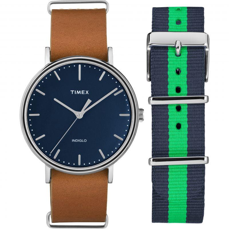 Mens Timex Fairfield Box Set Watch