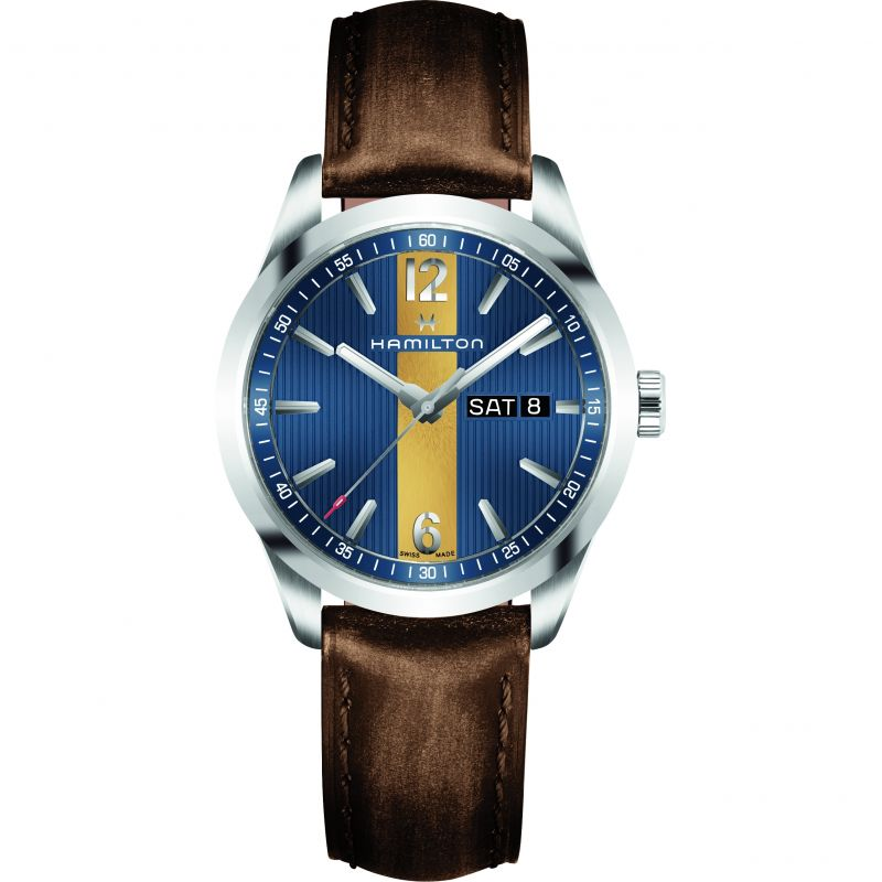 Mens Hamilton Broadway Day-Date Watch