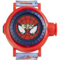 Character Marvel Ultimate Spiderman Projection Kinderenhorloge Meerkleurig SPM83