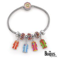 femme Persona The Beatles 50th Anniversary Sgt Pepper Limited Edition Charm Br Watch H15178BM-M