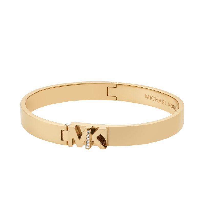 Ladies Michael Kors Gold Plated Iconic Bracelet MKJ6835710
