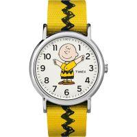 Herren Timex Weekender Timex x Peanuts Charlie Braun Uhren