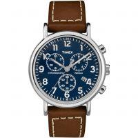 homme Timex Weekender Chronograph Watch TW2R42600