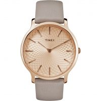 Timex Skyline 40mm Dameshorloge Grijs TW2R49500