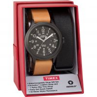 Mens Timex Scout Box Set Watch