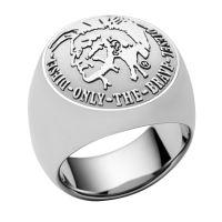 Mens Diesel Stainless Steel ring DX0693040510