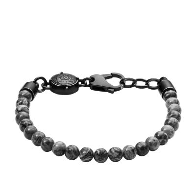 Mens Diesel Black Ion-plated Steel Bracelet DX1015001