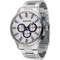 Herren Police Momentum Chronograph Watch 15000JS/04M