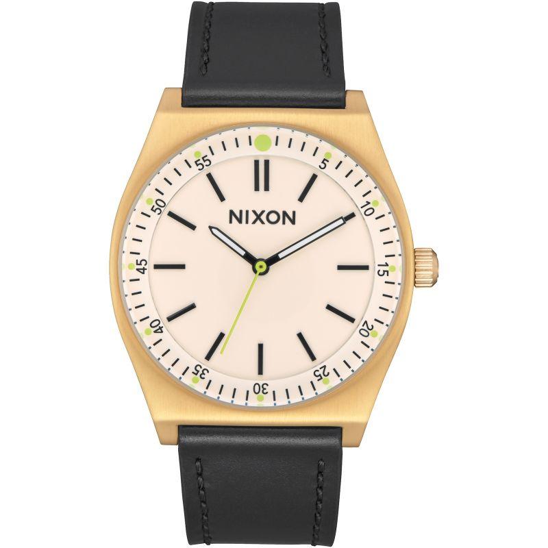 Mens Nixon The Crew Leather Watch