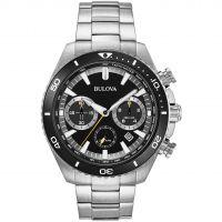Herren Bulova hoch Performance Quarz Chronograf Uhren