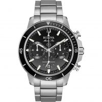 Mens Bulova Marine Star Watch