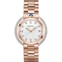 Damen Bulova Rubaiyat Watch 98R248